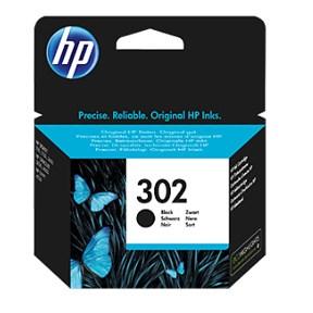 HP bläck 302 svart 190sidor - original