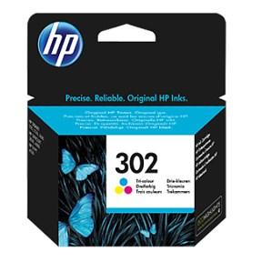 HP bläck 302 3färgs patron 165sidor - original