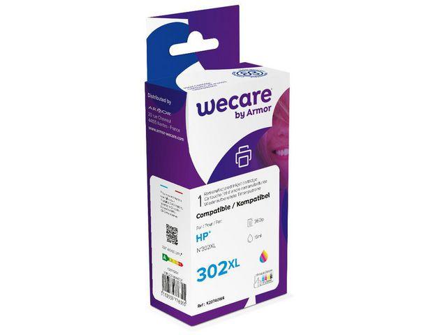 Kompatibel bläck 302XL 3färgs patron 330sidor - WeCare
