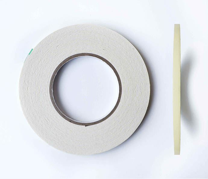 Double sided foam adhesive tape, 6mm