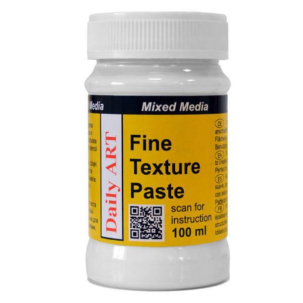 Fine texture paste