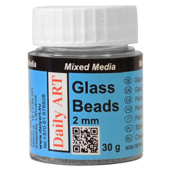 Glass beads 2 mm