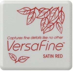 Versafine Satin red liten