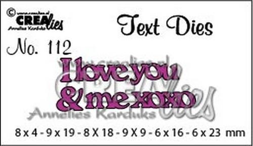 Text Dies I love you....CLTD112