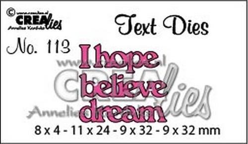 Text dies I hope..... CLTD113