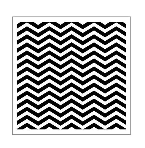 13 Arts stencil Chevron