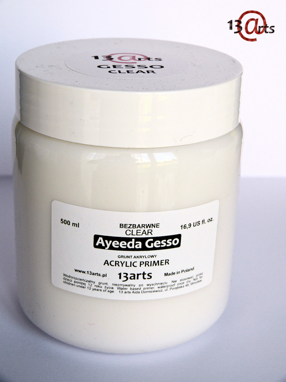 Clear Gesso 500 ml