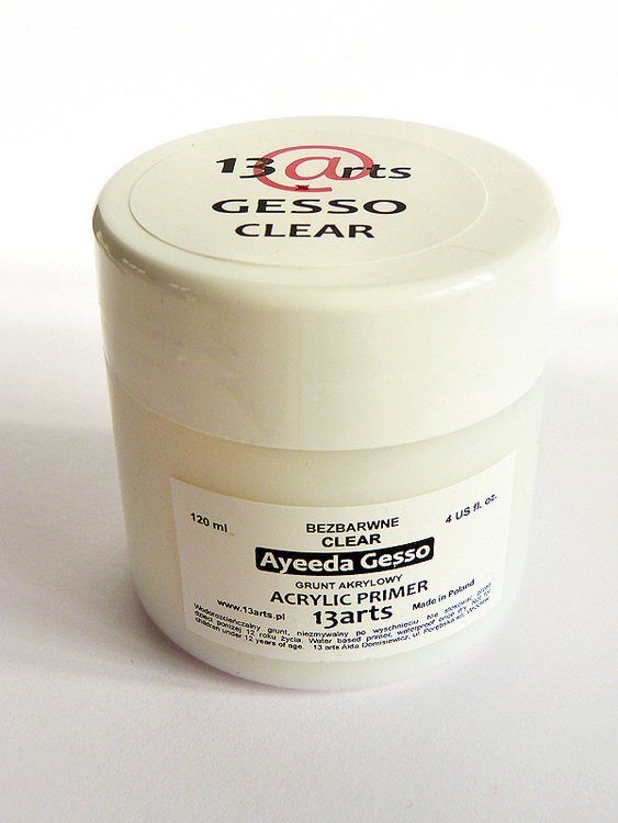 Clear Gesso 120 ml