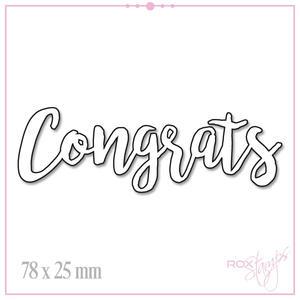 Congrats RoxStamps