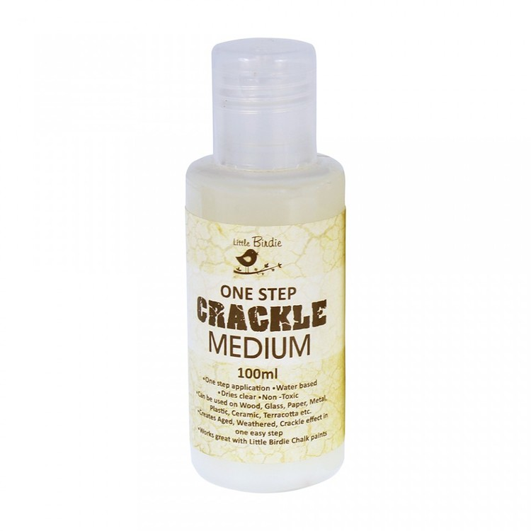 One step crackle medium 100 ml