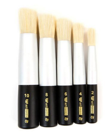 Finnabair Dabbing brush set  5 st