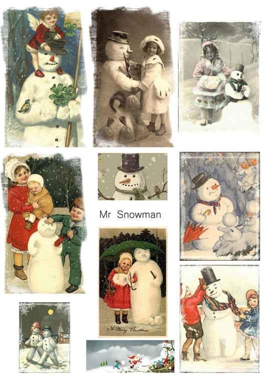 KP0013 Snowmen