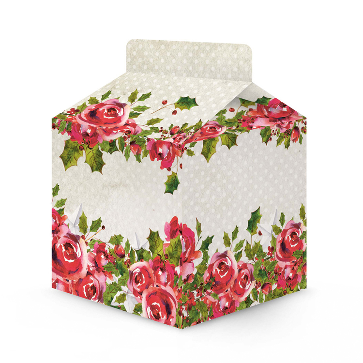 Rosy Cosy Christmas boxes 3 st