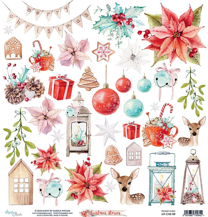 Christmas stories 12x12 Klippark