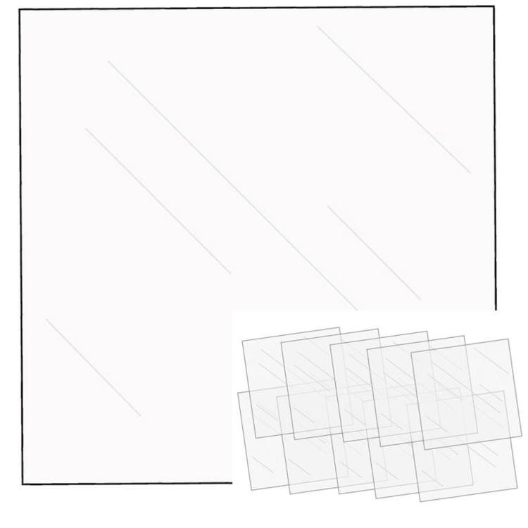 Fuse Clear sheets 12x12