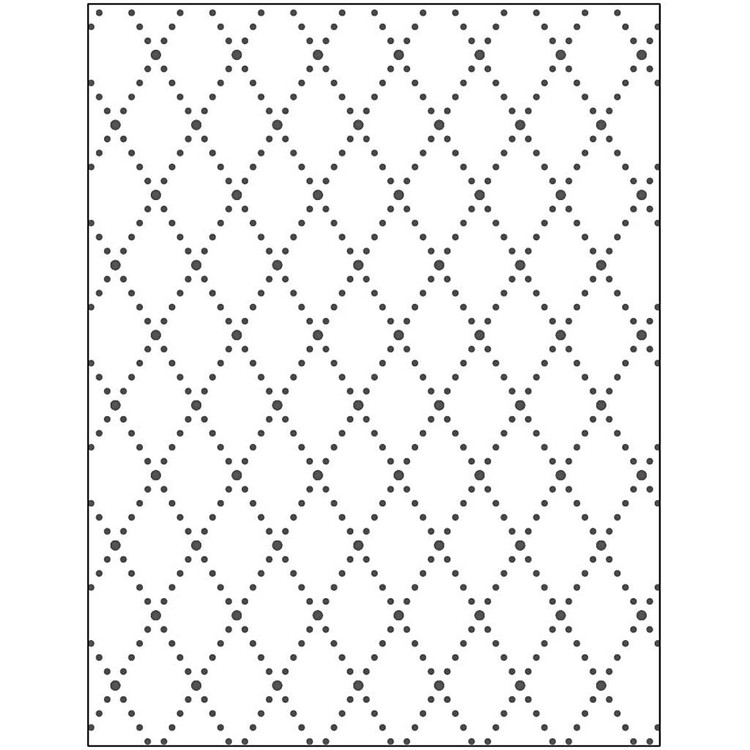 Embossing folder Diamant