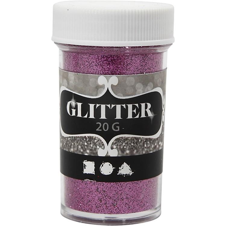 Glitter pink 20 gr