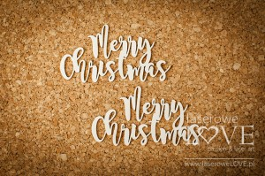 Chipboard Merry Christmas