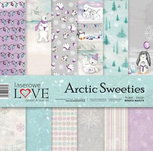"""Laserowe - Arctic Sweeties 12x12"""" papperspack"""