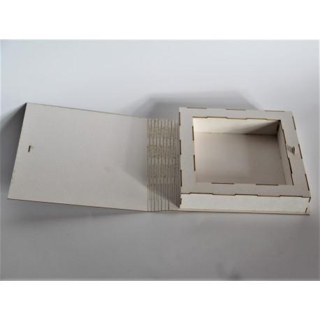 3 D Bok 15x15 cm