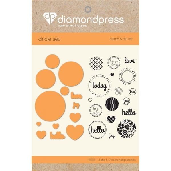 "Diamond Press Die & Stamp ""Love Today"" DP1223"