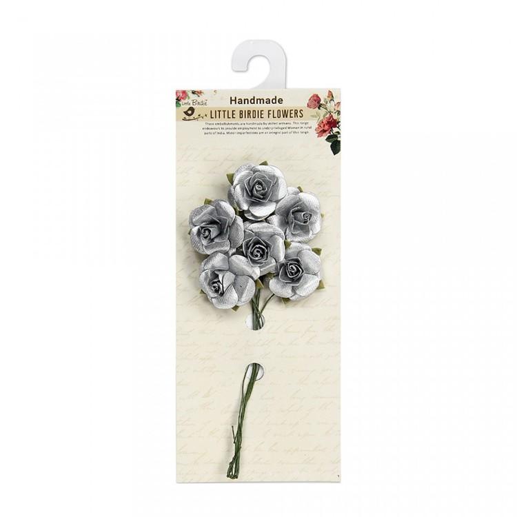 Metallic rose 62821