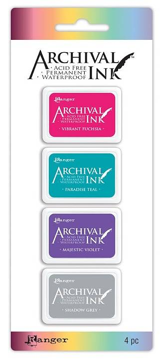 Archival Ink set nr 4