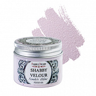 Shabby Velour Tender Lilac