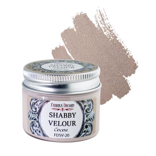 Shabby Velour Cocoa
