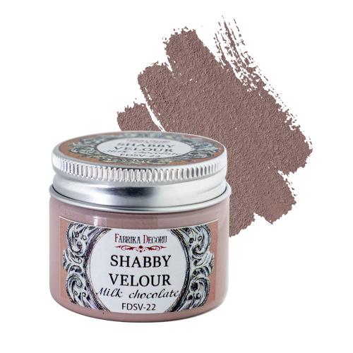 Shabby Velour Milk Chocolate