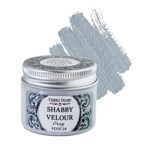 Shabby Velour Grey