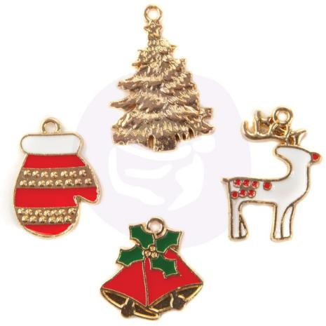 Enamel charms 4 stXmas in the country
