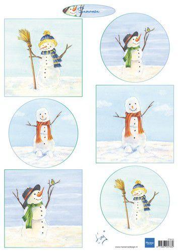 Tiny Snowmen