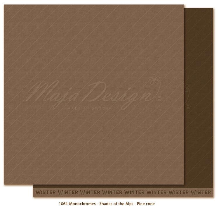 Maja Design - Holiday in the Alps - Monochrome - Pine cone