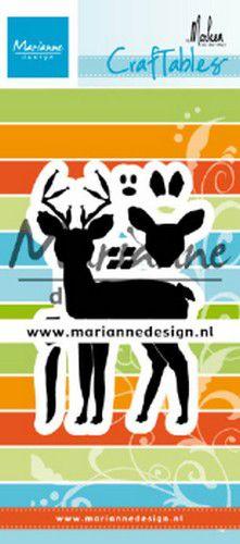 Marianne design hjort dies