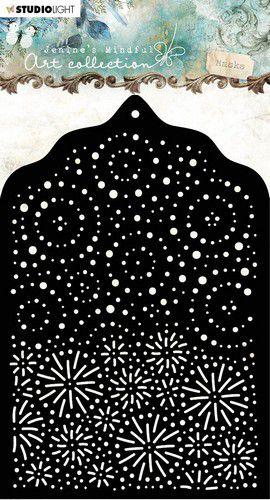 Stencil A6 Jenine's Mindful nr 02