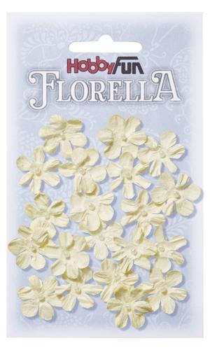 Fiorella   2 cm små creme blommor 3866002