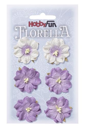 Fiorella hortensia 3.5cm lavendel  3866053