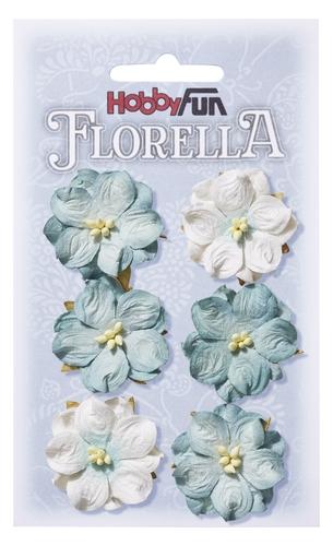 Hortensia 3.5 cm i ljusblågrå nyanser  3866023