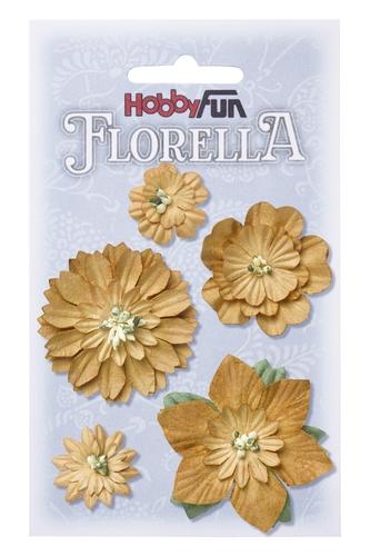 Fiorella blommor 1-5 cm Beige 3866068