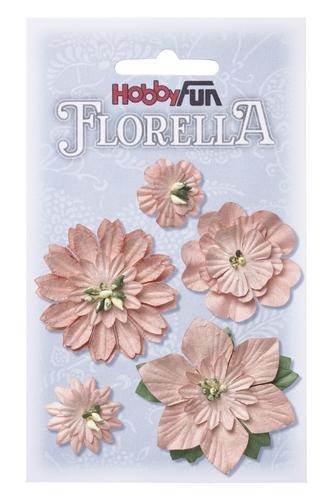 Fiorella blommor 1-5 cm gammalrosa 3866066