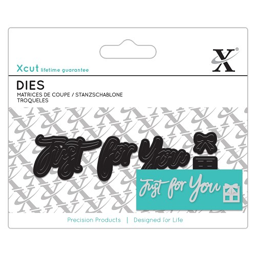 "Xcut die ""Just for You"""