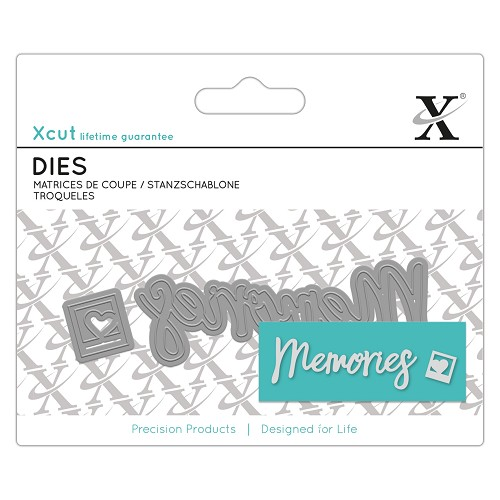 "Xcut mini sentiments ""Memories"""
