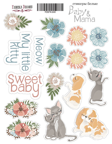 Stickers Baby & Mama 040