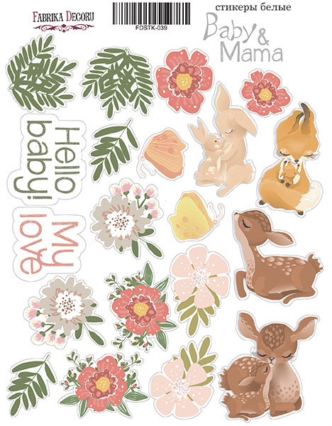Stickers Baby & Mama 039