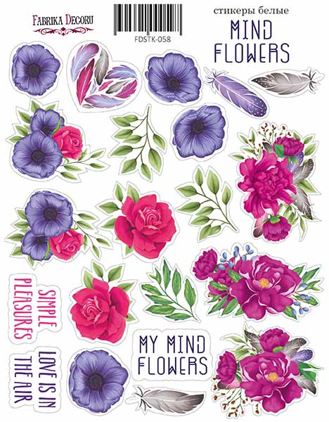 Stickers Mind Flowers 059