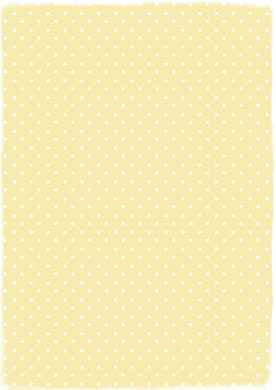 A4 papper Yellow dots