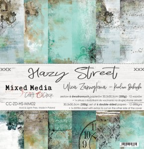 Hazy Street Papperspad 12x12