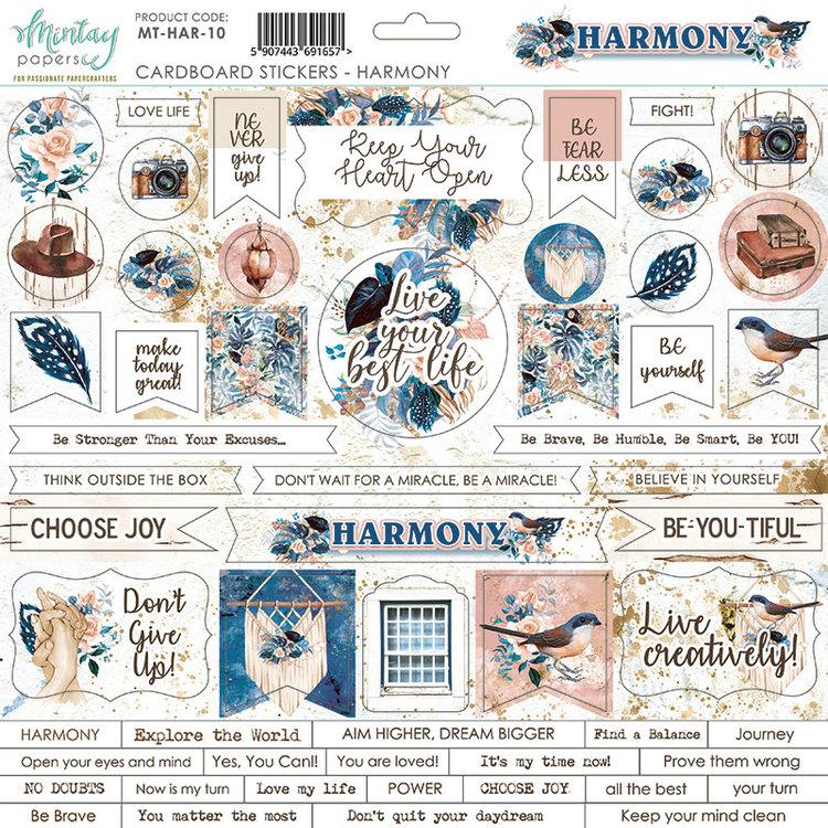 Chipboard dekos  Harmony 12x12