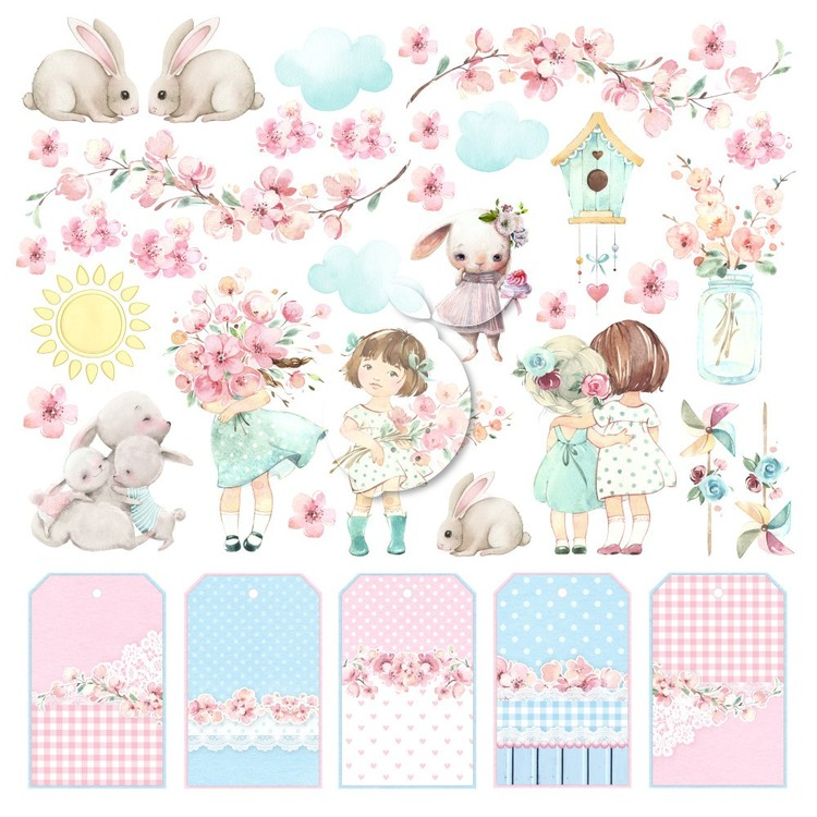 Lemoncraft Girls little world klippark 12x12